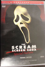 THE SCREAM SCREEN SAGA - SPECIAL FEATURES DVD RARE DELETED R4 PAL HORROR MOVIE