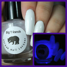 Glow-in-the-Dark Nail Polish Top Coat Nail Polish - Purple - MILKY WAY