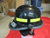 MFG 2011 Cairns & Brother Fire Helmet N660C Metro NECKGUARD  Black Firefighter