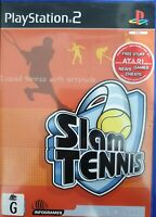 PS2 Slam Tennis Inc Manual