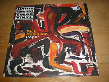 Rich Robinson ‎– Paper LP Sealed New Color Vinyl w/digital download