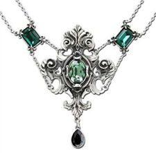 Romantic Gothic Alchemy Gothic 1977 Queen of the Night  Necklace P503
