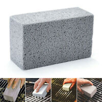 BBQ Scraper Pumice Grill Cleaner Cleaning Stone Brick Block Barbecue Griddle Kit