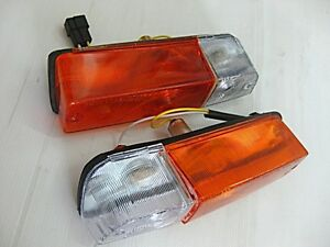 with for DATSUN 1200 B110 KB110 SUNNY B210 120Y FRONT TURN SIGNAL SET  (si042)