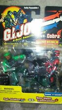 Brand New Mint in Box GI Joe v Cobra sound attack Action figure twin pack