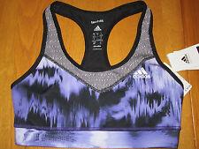 Adidas Tech Fit ~Tie Dye~ Brushed Glitch Sports Bra Sz Women's Small NWT