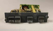 747-400 Passenger Sign Module with lighted Korry switches; P/N-69B46026-13