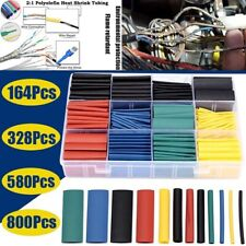 800pcs 21 Heat Shrink Tube Assorted Insulation Shrinkable Tube Wire Cable