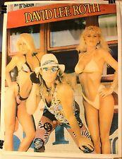 """David Lee Roth Van Halen 23 x 18"""" Poster Van Halen"""