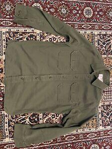 Filson Canvas Work Shirt - Small - OG107 - Army Green - EUC