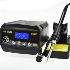 ATTEN AT938D 60W Digital Soldering Iron Station 150~450℃ LCD Display 220V New