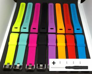 Silikon Armband Ersatz für Garmin Vivosmart HR Plus Fitness Tracker HR+ Silikon