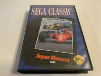 Super Monaco GP Sega Genesis Complete in Box Tested