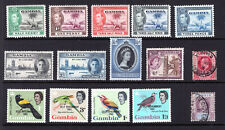 GAMBIA Stamp Lot #12: MH OG & Used