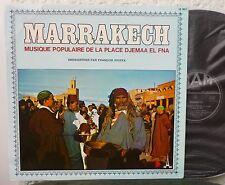 MAROKKO  Marrakech. Musique Populaire De La Place Djemaa El Fna  LP
