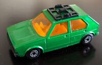 1976 Matchbox Superfast Lesney No 7  VW Golf Green