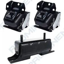 Front Engine & Trans Mount 3PCS Set For 07-14 Chevrolet GMC Cadillac AT