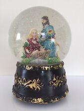 Christmas Snow Globe Nativity Scene 16cm