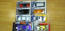(Lot of 8) Dub City/Hotwheels/Import racer Mixed Model cars 1:24 Die cast metal