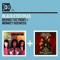 "BLACK EYED PEAS ""BEHIND THE FRONT/MONKEY..."" 2 CD NEW!"