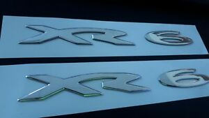 Ford Falcon BA BF FG XR6 Side Skirt / Rear Door Badge. x 2 pair  Free Postage !!