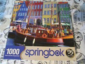 Copenhagen, Denmark Harbor  Jigsaw Puzzle - 1000 Pieces - Springbok