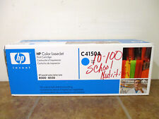 NEW HP C4150A 50A OEM Genuine Cyan Laserjet Toner Print Cartridge 8500 8550