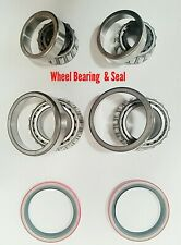 6PCS/SET Front Wheel Bearing&Race&Seal Assembly for Chevy C1500 Suburban 5.7L