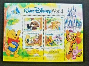 Canada 1621b Winnie the Pooh S/S 1996