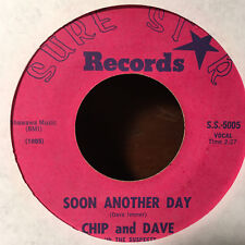Chip and Dave - Soon Another Day / Seventh Round 45 Sure Star 1965 Mod Beat R&B
