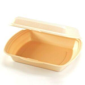 200 x Menüboxen  Menüschalen Lunchboxen Imbissboxen Ungeteilt 2-/ 3-geteilt