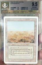 Vintage Magic | MTG BGS 9.5 Scrubland, QUAD +10, Revised Sin Reserva!!!