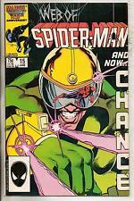 Marvel Comics Web Of Spiderman #15 June 1986 VF+