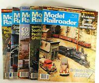 Model Railroader Magazine 1993 Lot of 5 Kalmbach Publishing Model Trains