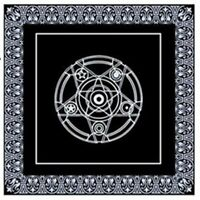 Game Textiles Board Tarot Table Cover Playing Cards Pentacle Tarot Tablecloth ##