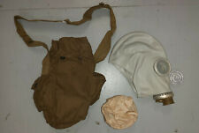 GAS MASK SOVIET GP-5 WITH BAG & FILER - COLD WAR WARSAW PACT COLLECTIBLE UNUSED