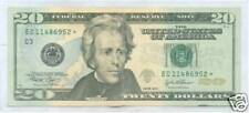 2004 - $20. Star Note -  PHILADELPHIA - Circulated