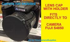 LENS CAP SLIP-ON DIRECTLY TO CAMERA FUJI S4850 HD S4850HD FINEPIX FUJIFILM+HOLD