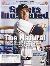 Shipped In A Box - Sports Illustrated Magazine August 29 2005 Jeff Francoeur