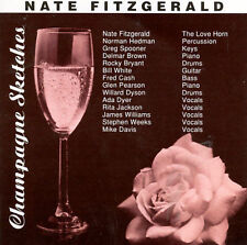Champagne Sketches Nate Fitzgerald MUSIC CD