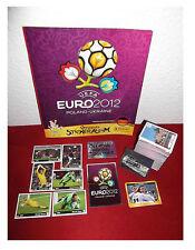 PANINI EURO 2012 album em'12-tutti 560 Sticker completamente nuovi atti eroici PSS