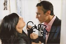 EMMERDALE: CHRIS BISSON 'JAI SHARMA' SIGNED 6x4 ACTION PHOTO+COA