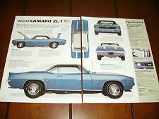 New listing 1969 Camaro Zl-1 427 Copo *Original 2003 Article*