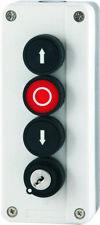 Dreifach Drucktaster mit Schloß Schalter Taster 3-fach Torantrieb  Garagentor