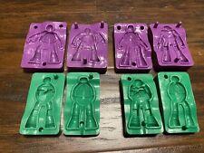 Ninja Turtles TMNT Playdoh Figurine Molds Set Of 4