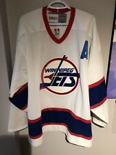 Teemu Selanne Winnipeg Jets CCM XL Jersey