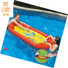 Ginzick Super Fun Floating Hockey Game Inflatable Pool Toy Durable High Quality