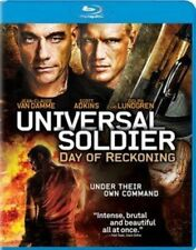 Universal Soldier Day of Reckoning Blu Ray Region 1