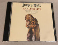 Jethro Tull - Aqualung Live - Limited Special Collectors Numbered Edition CD