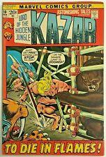 ASTONISHING TALES#10 FN 1972 MARVEL BRONZE AGE COMICS